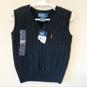 POLO by RALPH LAUREN Boys Sweater Vest NYT
